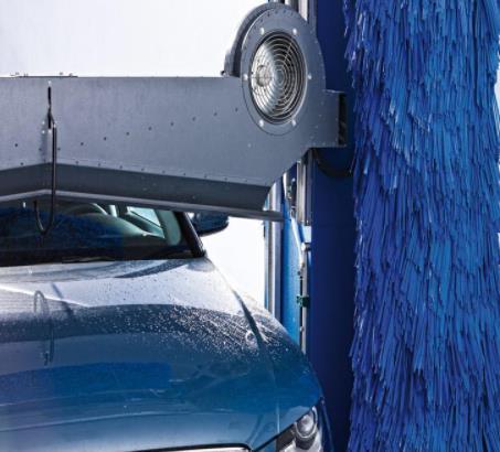万洗得洗车机多方位