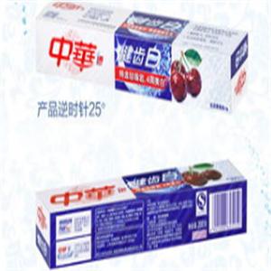 中華健齒白牙膏新品
