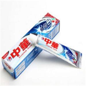 中華健齒白牙膏宣傳