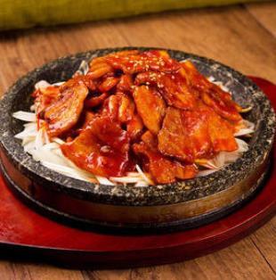 百年石锅酱肉