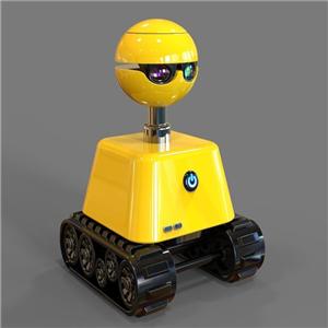 小朵智能机器人黄色