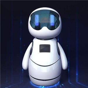 小朵智能机器人站着