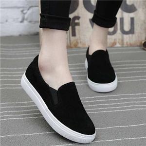 一腳蹬女鞋黑色