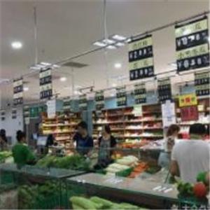 品全优生鲜超市环境