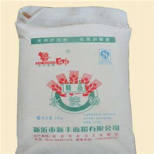 新丰面粉一袋