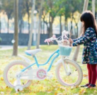 優貝兒童自行車小白車