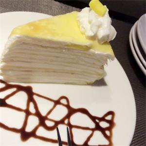 一只榴芒榴莲千层蛋糕品牌
