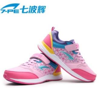 七波辉女童鞋