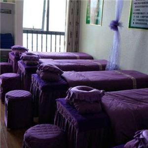 一意美容美体紫色