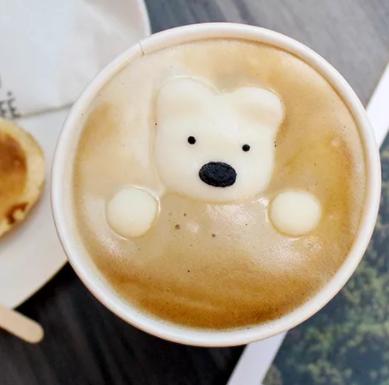 寶拉白熊咖啡廳可愛