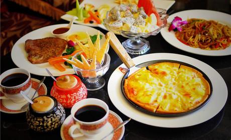藝術+春園咖啡西餐廳美味