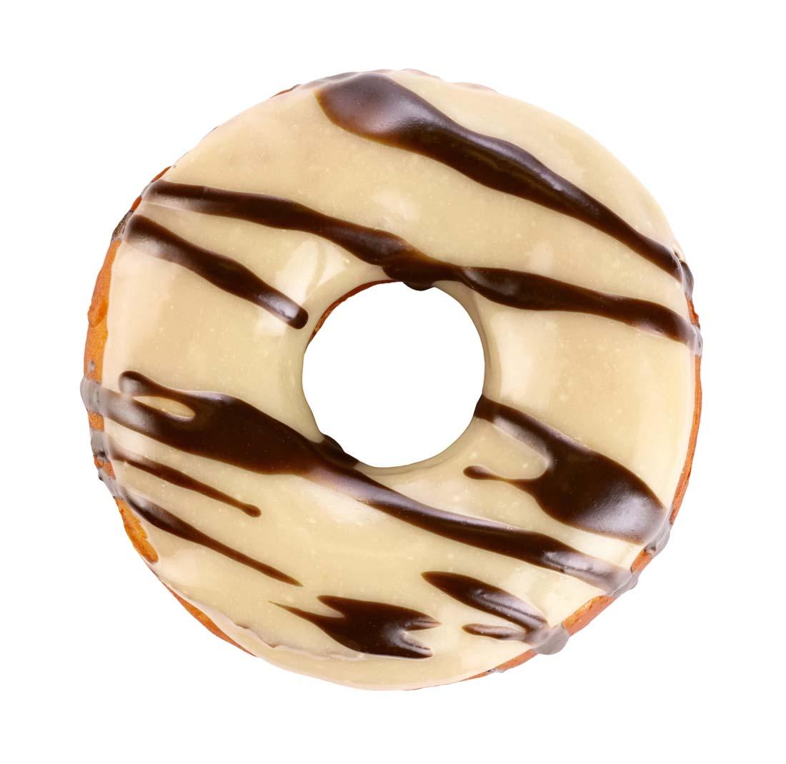 老爹甜甜圈店白巧克力