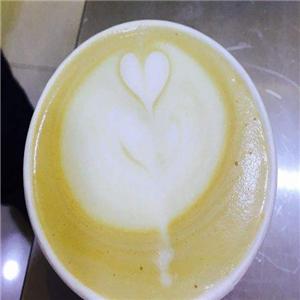 起点咖啡爱心