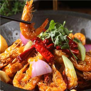 香辣铁锅大虾