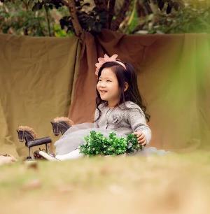 大自然兒童攝影可愛