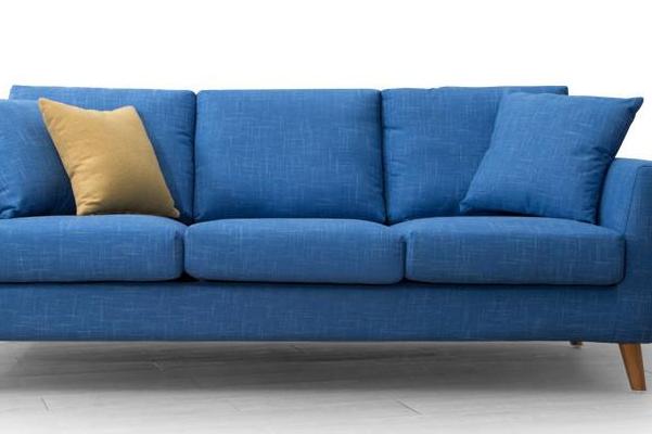 藍色布藝沙發加盟