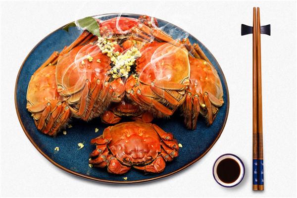 星湖岛大闸蟹美味