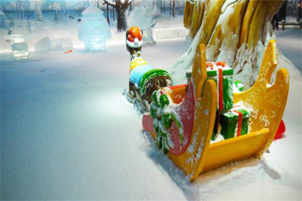 樂漫冰雪王國雪橇