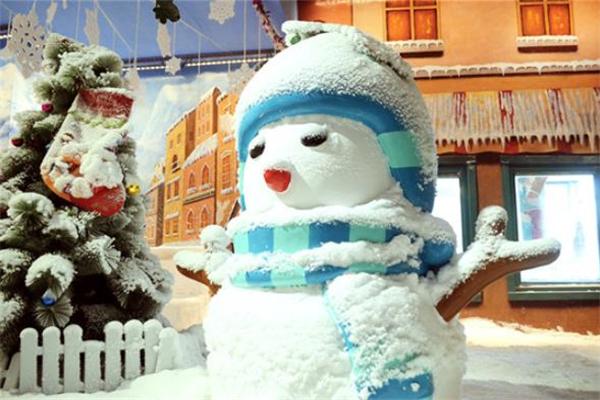 樂漫冰雪王國雪人