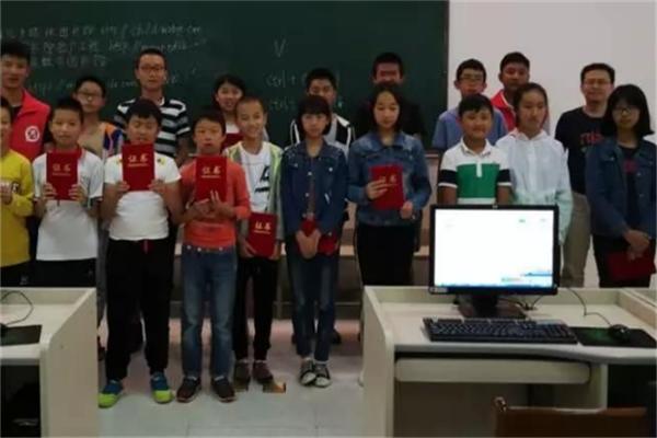 小图灵少儿编程学生