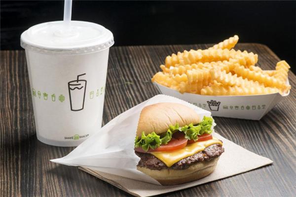 Shake Shack汉堡杯子
