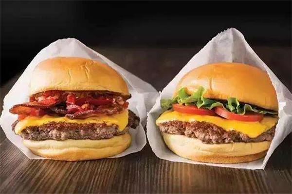 Shake Shack汉堡两个