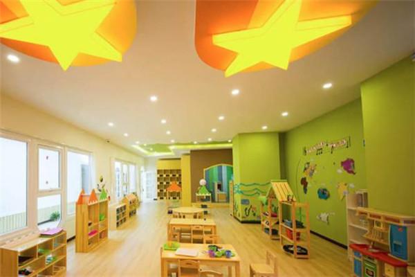 蒙氏兒童之家教室