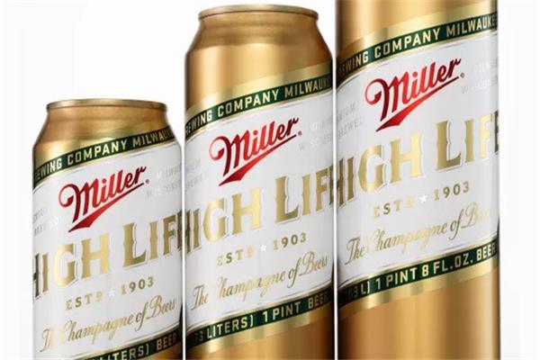 美国米勒啤酒包装