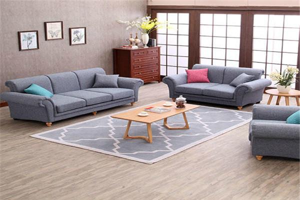 美式布艺沙发大气