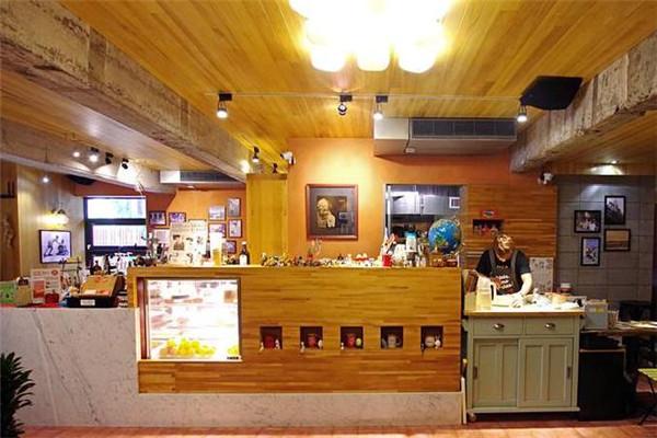 古巴咖啡柜台