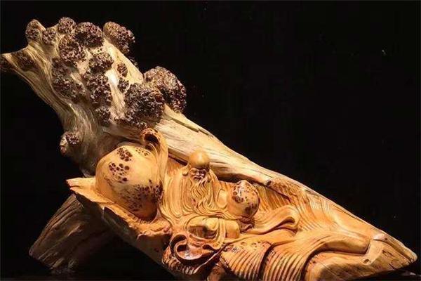 崖柏工藝品木頭