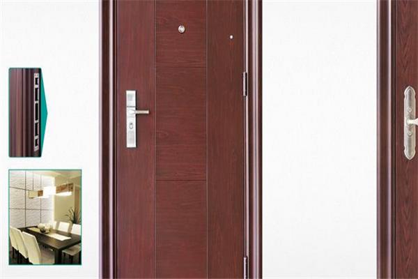 亚正防盗门展示