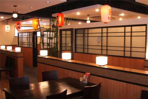 一家日式快餐店环境