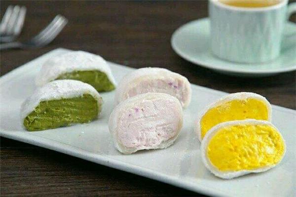 伊利糯米糍雪糕美味