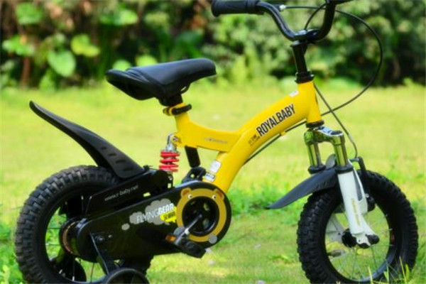 優貝兒童自行車小黃
