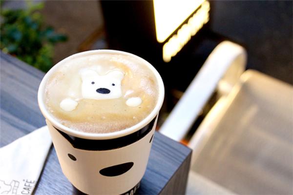 寶拉白熊咖啡廳美味