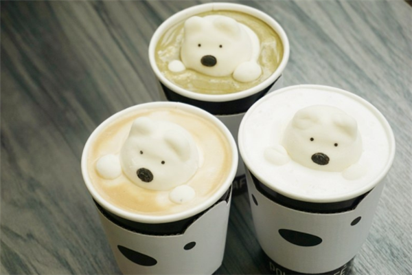 寶拉白熊咖啡廳好喝