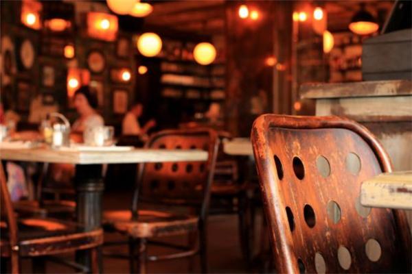 七弄咖啡馆环境