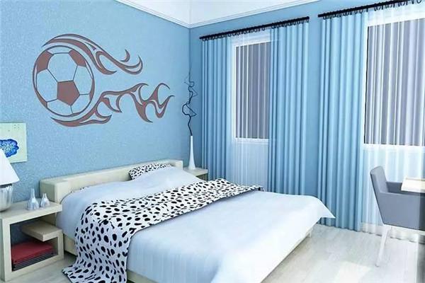 芝罘岛贝壳粉装饰的房间