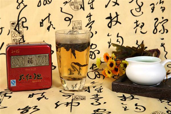 知福大红袍茶