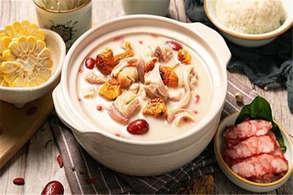 金龍匯生榨椰汁雞豬肚雞小龍蝦營養