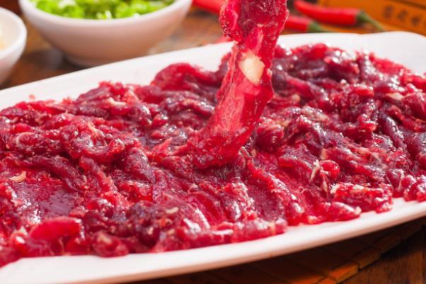 龍軒潮汕鮮牛肉美味