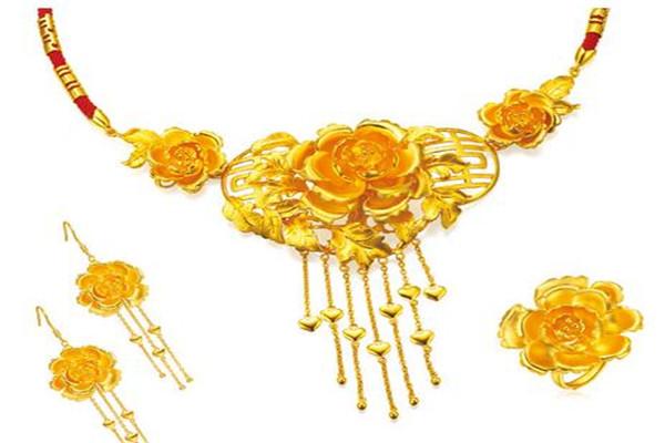 黄金码头项链