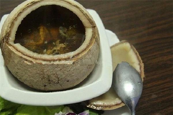云泉椰子鸡美味