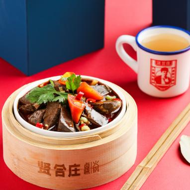 贤合庄卤味火锅产品5