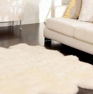 晴綸地毯純白