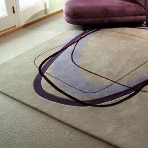 晴綸地毯線條