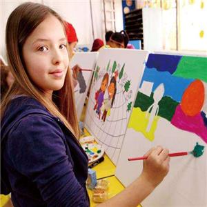 未来田儿童艺术教育画画