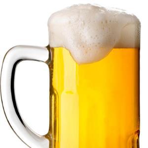 小麦白啤酒泡沫