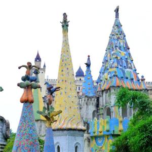 魔法城堡幼兒園綠色